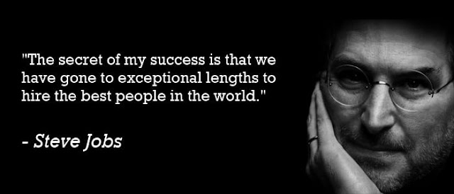Image result for steve jobs hiring quote
