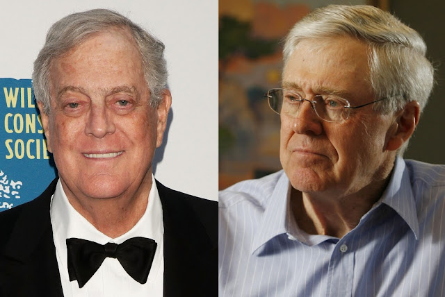 Charles Koch dan David Koch