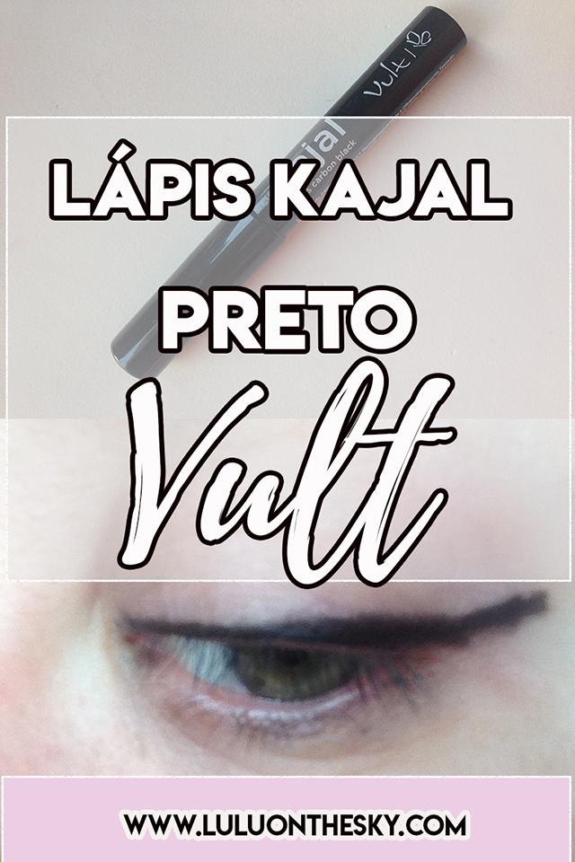 Vult Lápis Kajal Preto - Beauty Fair 2018