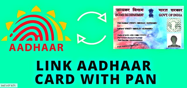 Link aadhaar with PAN: Get here the two ways linking aadhaar with PAN