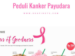 Ikutan Kampanye Kanker Payudara bersama Starbucks Pink Voice Challange