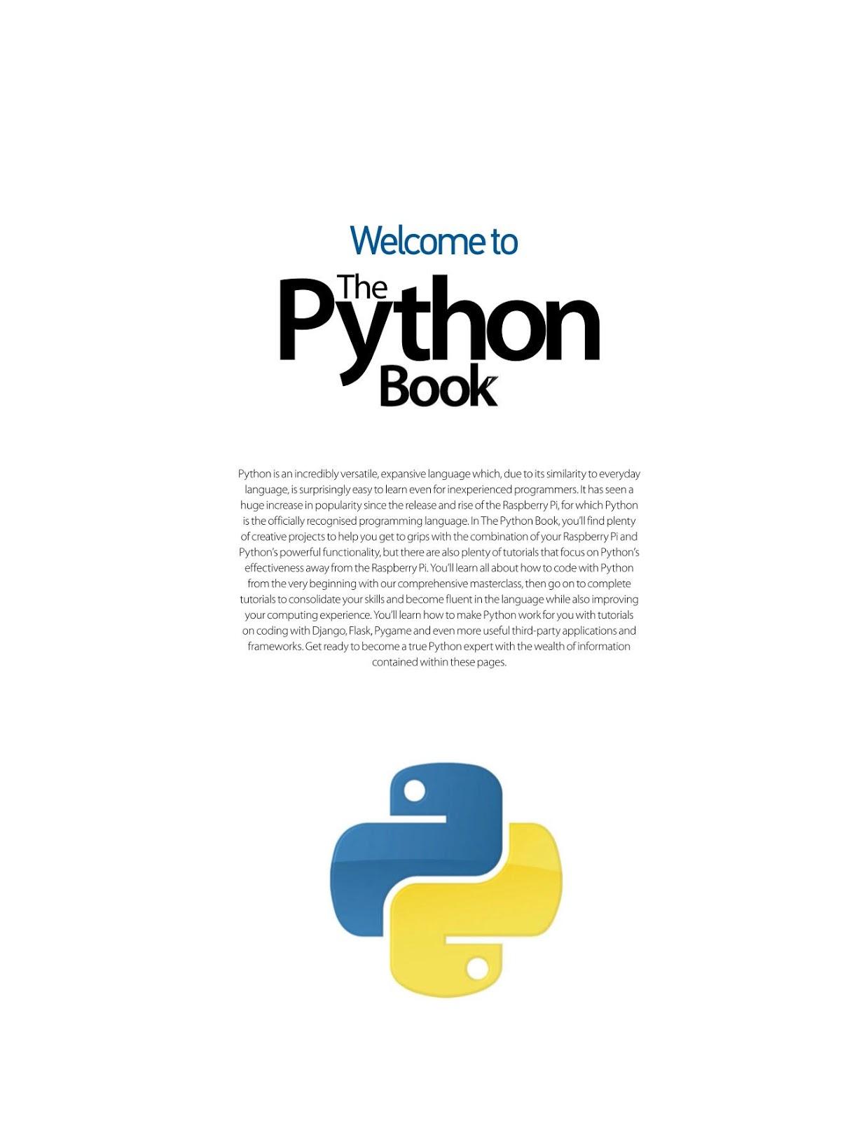 Summary -> A Python Book Beginning Python Advanced Python And