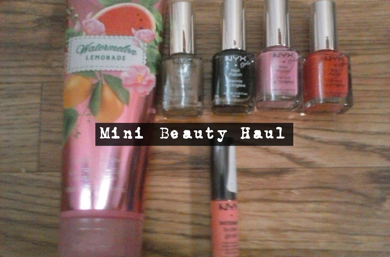 Mini Beauty Haul