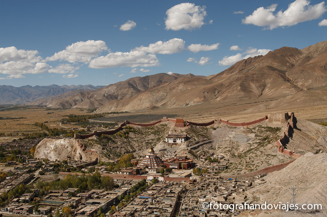 Monasterio Gyantse Tibet