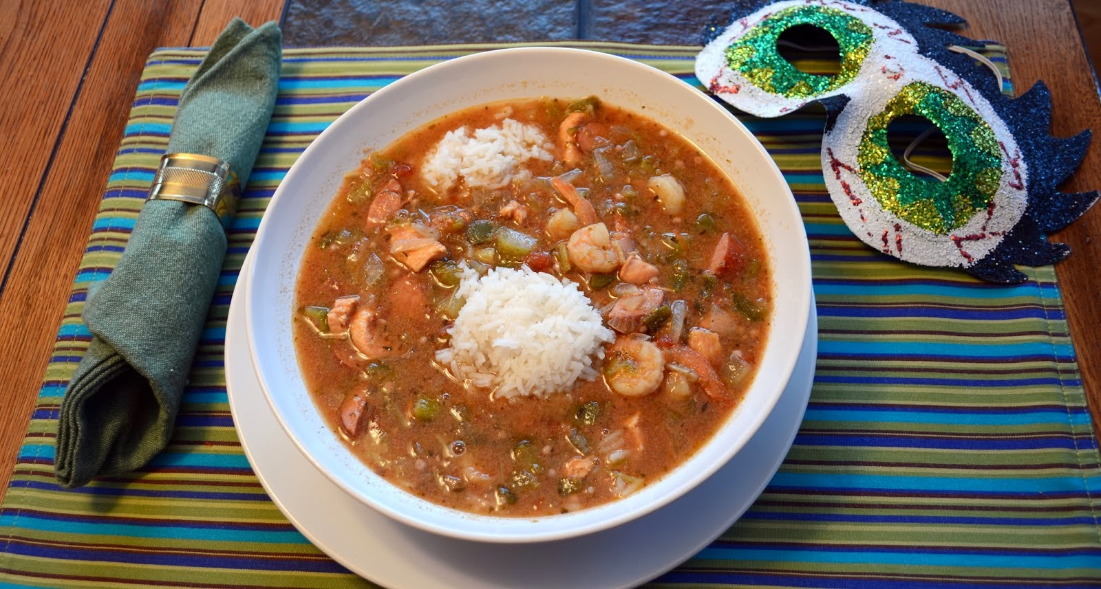 gluten-free, gumbo, slow cooker, crockpot, dinner