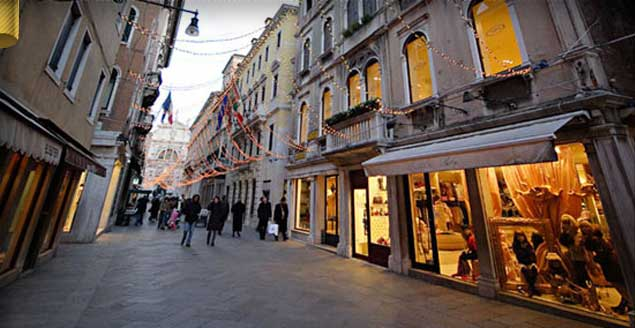 Compras em Veneza