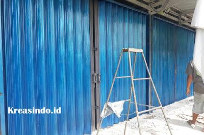 Folding Gate Pesanan Bpk Suratno di Cilodong Depok