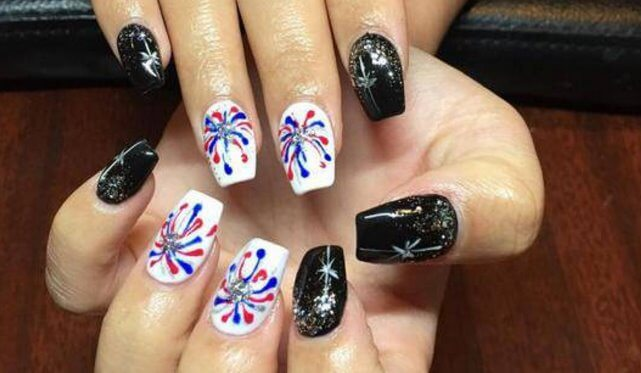 black and white, gradient Nail, Designs for girls