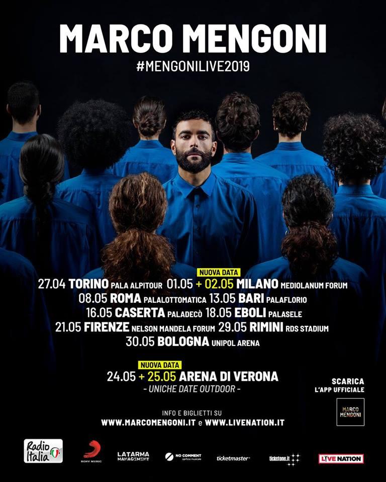 MARCO MENGONI ha già venduto 40.000 biglietti!