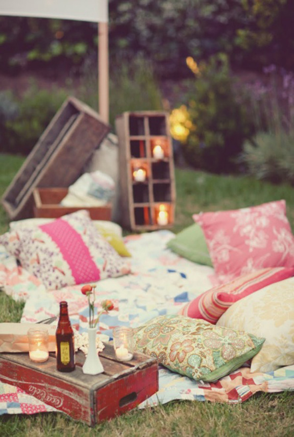 Full of Vintage Style Your Summer Meals with Flow Picnic