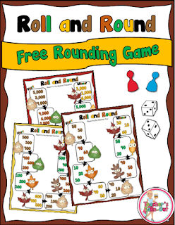 Roll and Round Math Game
