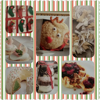 Christmas Recipe and Crafts sample collage