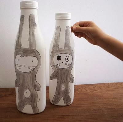 Aneka Kerajinan Tangan Dari Botol Bekas 10
