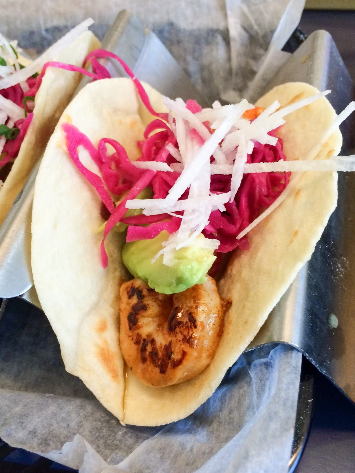 Buena Onda Tacos - Shrimp Tacos