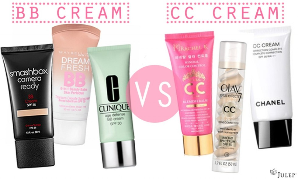 difference between foundation bb cream and cc cream
