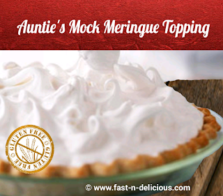 Meringue Topping