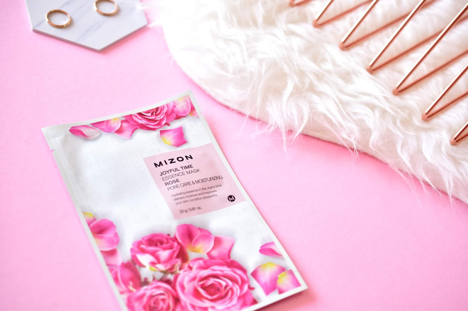 MIZON Joyful Time Essence Mask Rose