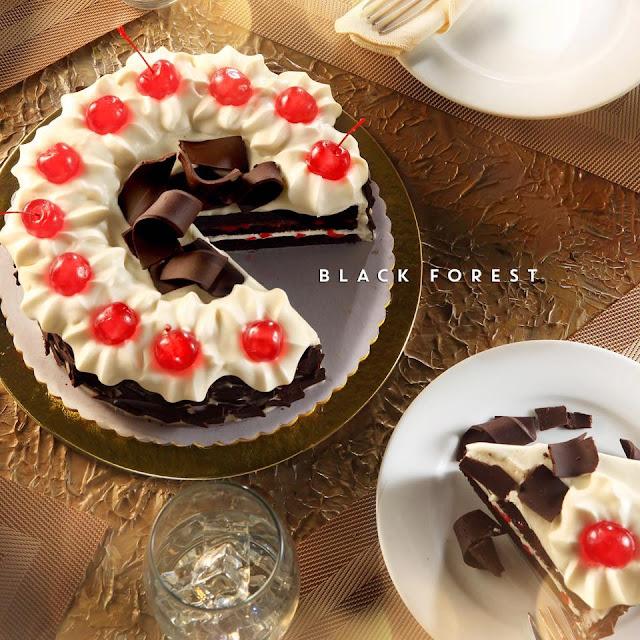 Cappuccino Cream Cake Red Ribbon