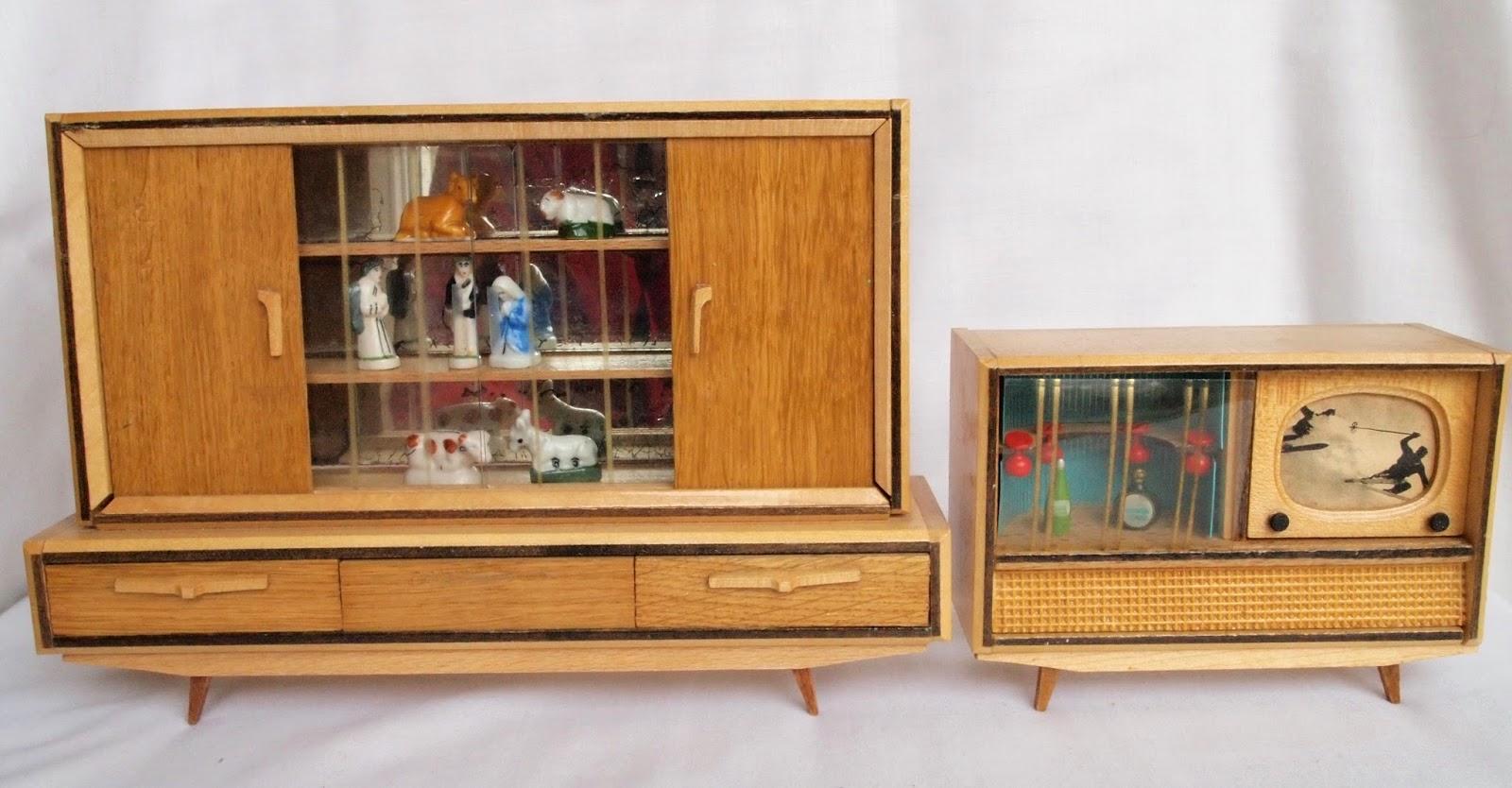 Diepuppenstubensammlerin Wohnzimmer Der Sechziger Wichtelmarke