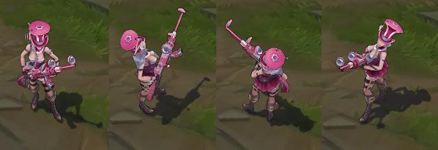 Mod Skin Caitlyn Pink Edition