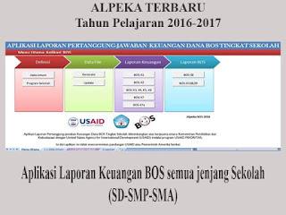 Aplikasi BOS atau Alpeka 2016-2017