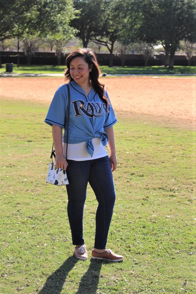 baseball fan purse