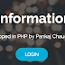 Student Information System in PHP