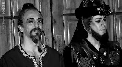 """El genio y Jaffar de """"Aladin, un musical genial"""""""