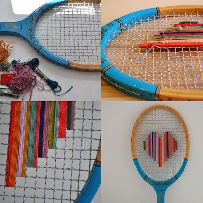Creative and Functional Reuses of Tennis Rackets (9) 4