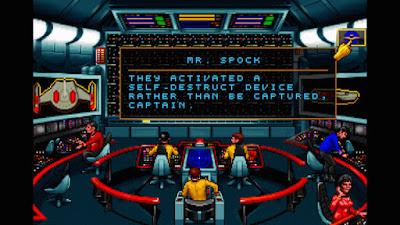 Partida Videojuego Star Trek 25th Anniversary