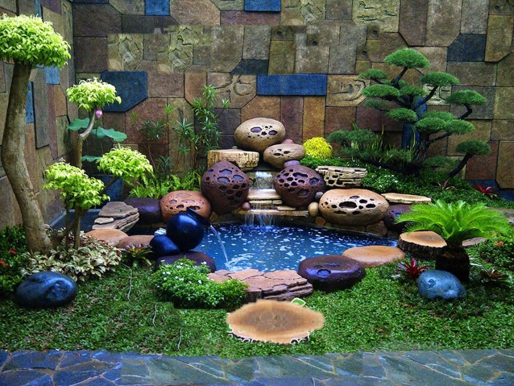 Galeri Foto Dekorasi Dan Relief Tukang Taman Surabaya