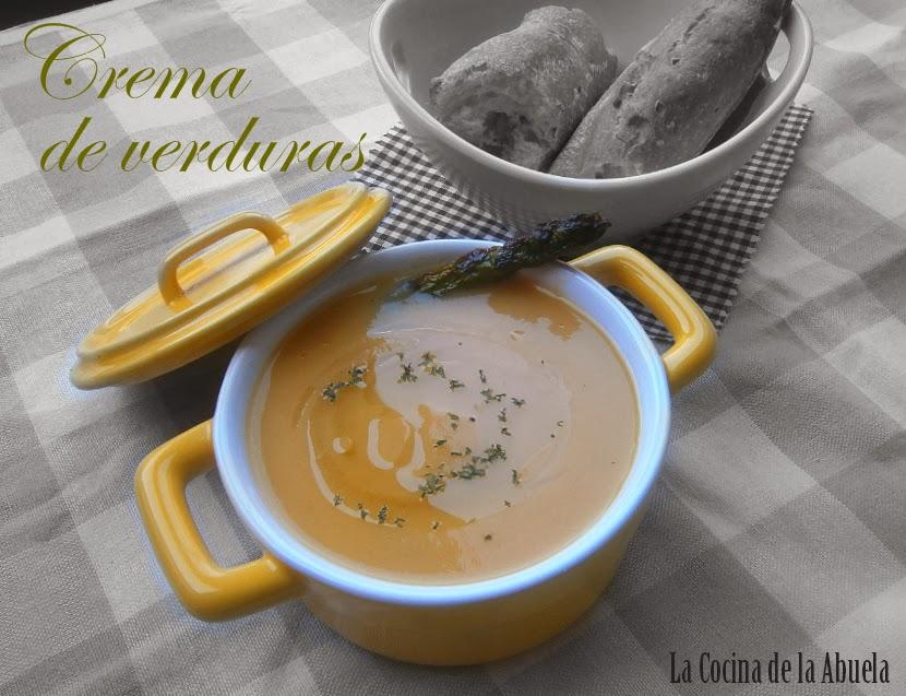Crema de Verduras Casera.