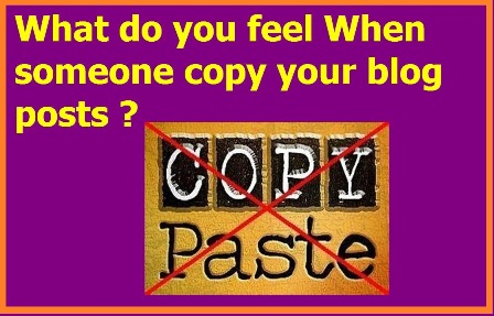 someone copy your blog posts ?