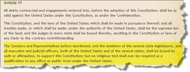 section 1 article 4 of a united areas constitution