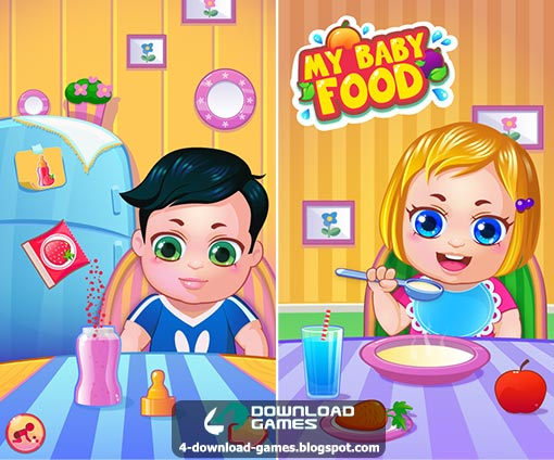 لعبة غذاء طفلي My Baby Food - Cooking Game