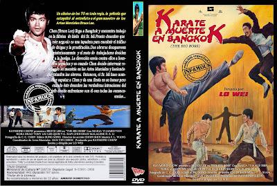 Carátula dvd: Kárate a muerte en Bangkok