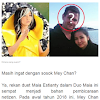 Beredar Video Dita 'Mey Chan', Mantan Teman Duet Maia Berpelukan dengan Seorang Pria Indonesia, Netizen Pertanyakan Perceraian