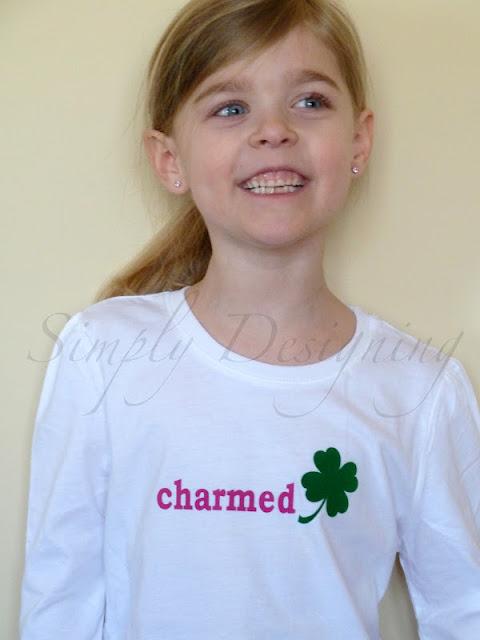 """013b+charmed+shirt """"Charmed"""" St Patrick's Day Shirt 3"""