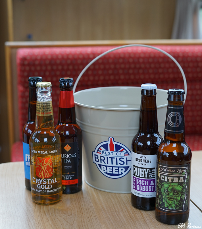 Pail of Ales from Best of British Beer
