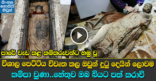 This 'Mysterious Box' Found by Road Workers Underground & Decided to Look Inside
