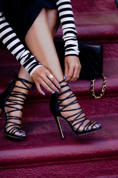 Stripes and Stilettos