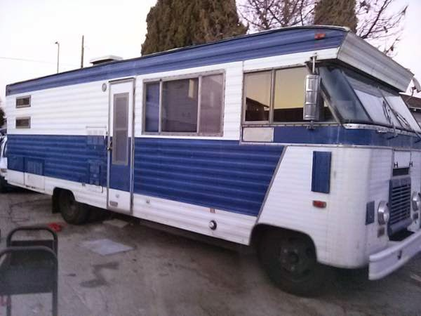 Used Rvs 1969 Ford Condor Motorhome For Sale By Owner