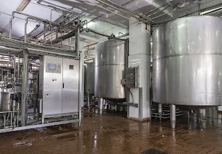 food and dairy production plant