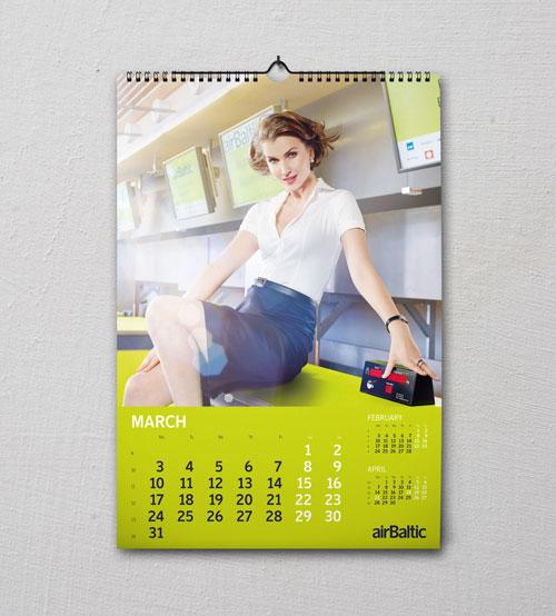 Cetak kalender dinding satuan jakarta