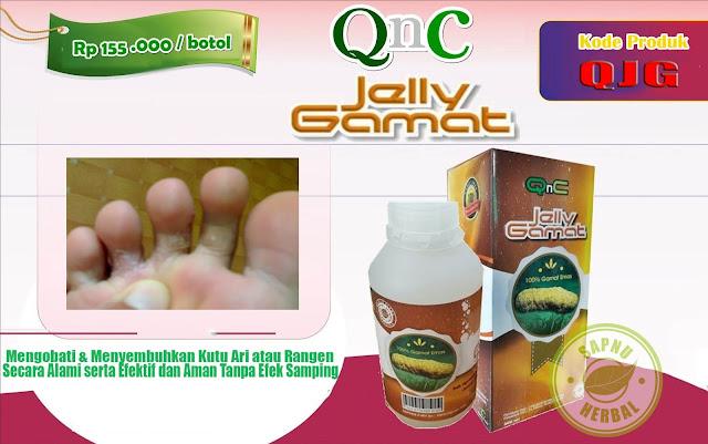 Pengobatan Alami untuk Menghilangkan Rangen (Kutu Air) yang Tidak Kunjung Sembuh dengan Obat Herbal QnC Jelly Gamat
