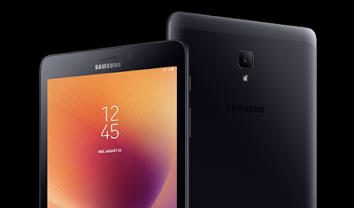 Samsung Galaxy Tab A 2017 SM-T385NZKAINS, with 8 inches Display, 4G LTE and Voice Calling