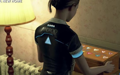 Kara, Alice's box, Detroit Become Human