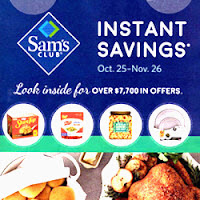 Sam's Club Instant Savings 2017 Are Starting