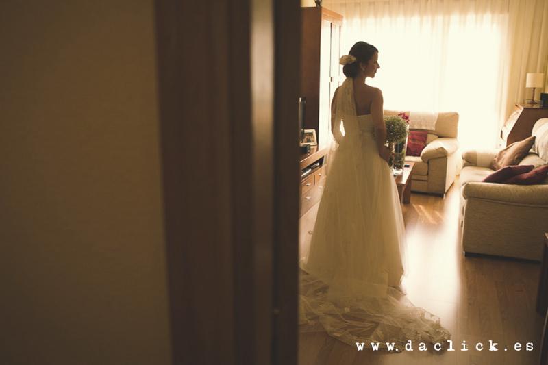 vestido de novia vintage espalda