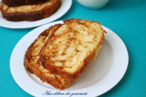 Gateau au yaourt et pommes caramпїЅlisпїЅes